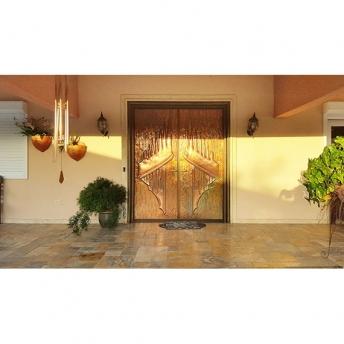 copper entrance door